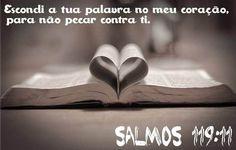 Salmo 119 em audio e vídeo, muitas lindas imagens do Salmo 119 para imprimir ou postar no facebook e whatsapp, compartilhe, Deus é maravilhoso ...