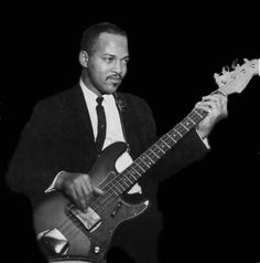 Legendary Motown Funk Brother, James Jamerson, bass guitar.