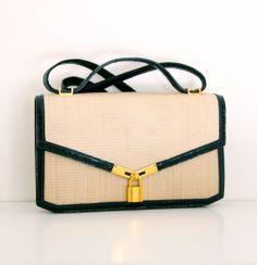 Hermes Vintage, Vintage Bags, Vintage Handbags, Handicraft, Crocodile, Archive, Button, Elegant, Shoulder