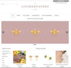 LINA HERNANDEZ JEWELRY: Nuestro shop online esta aqui! Para Colombia: