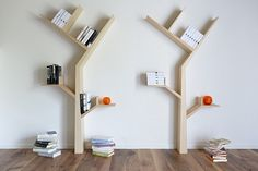 Designed by Kostas Syrtariotis, it received some attention a while back as a beautiful bookshelf design that looks perfect for children's libraries and homes that want to add a little character to their walls.  This time around, you can actually get one for placement in your home, ready to adorn your walls like a sculpture while keeping your beloved collection of reading materials organized.  http://www.coolthings.com/booktree-shelves/