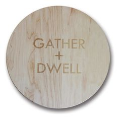 Richwood Creations 'Gather + Dwell' Lazy Susan ($65) ❤ liked on Polyvore featuring home, kitchen & dining and kitchen gadgets & tools