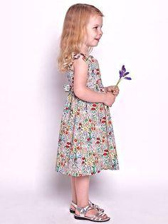 Peggy Dress - Multicolour Wildflowers - Florafina