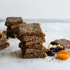 You'll never go back to store-bought after tasting these healthy and delicious energy bars that are surprisingly simple to make. Perfect for on-the-go snacking, these protein-packed treats will leave you feeling satisfied.
