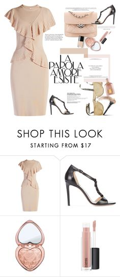"""Lovev the way you walk"" by naki14 ❤ liked on Polyvore featuring Givenchy, Altuzarra, Too Faced Cosmetics, MAC Cosmetics, Tom Ford, pale, rose, pastel and Spring2017"