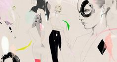 Illustration by Cecilia Carlstedt #fashion #illustration #cecilia_carlstedt