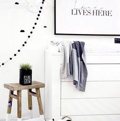 louelle. Nurseries we love. | Clean and simple never fails...  .  .  .  .  .  .  #louelle #nurserieswelove #interiors #nurseryinspo #nesting #nurserydesign #kidsdecor #ministyle #girlsroom #kidsroom #thatsdarling #kidsinterior  #everydayluxuryforchildren