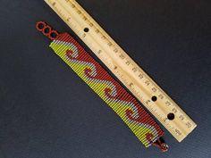Gift for him Gift for her mens bracelet Seed Bead bracelet