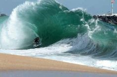 The Wedge. Hoping it will look like this next time I'm in Newport Beach.