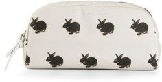 MARC BY MARC JACOBS rabbit print wash bag