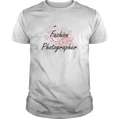 Fashion Photographer Artistic Job Design with Butterflies T Shirts, Hoodies…