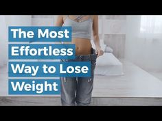 THE MOST EFFORTLESS WAY TO LOSE WEIGHT - DRINK WATER - YouTube Weight Loss Program, Drinking Water, How To Lose Weight Fast, Knowledge, Lost, Personal Care, Drinks, Youtube, Consciousness