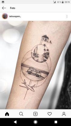hippie tattoo 510736413990852940 - Tattoo idea for a traveler Source by laetitiapelisso Mini Tattoos, Cute Tattoos, Body Art Tattoos, New Tattoos, Small Tattoos, Tattoos For Guys, Tattoos For Women, Globe Tattoos, Finger Tattoos