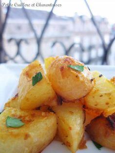 """750g vous propose la recette """"Pommes de terre nouvelles rôties à la moutarde douce"""" notée 4.1/5 par 26 votants."""