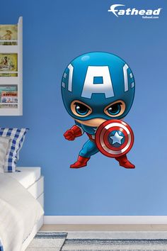The Fathead Marvel Team Up Collection Features All Of The Marvel - How to put a wall decal up