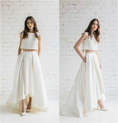 Beautiful and Sensual With Two Piece Lace Wedding Dresses : 100+ Ideas https://femaline.com/2017/03/30/beautiful-and-sensual-with-two-piece-lace-wedding-dresses-100-ideas/