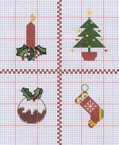 Free Christmas Cross Stitch Pattern