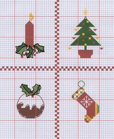 Free Christmas Pattern Cross Stitch Centre