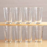 Cosmos Glass Set of 8 / Regular Price : $20.00 / Now : $9.99