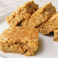 Rieska, a native of Finland, features the texture of a cakey drop biscuit. A quick and easy baking powder bread, it's packed with whole grains and very tasty to boot.