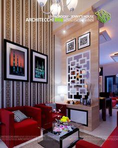 tata ruang tamu minimalis dengan lahan yang super sempit