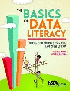 """Almost every teacher has faced the challenge of helping students make sense of some data set; many times, that teacher has sat there, scratched his or her head, and wondered how to help the students make sense of the data they collected."" (NSTA Press p. x) --Michael Bowen, Anthony Bartley"