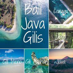 itineraire voyage 3 semaines à bali java gilis blog conseils voyager indonésie