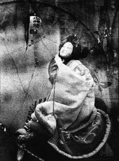 Maurizio Buscarino - Jusaburo Tsujimura (Doll Maker), Bunraku, Kichijoji Kabuki Theatre, Tokyo, Japan. 1983. S)