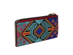 Sierra Embroidered Wallet Clutch by Big Buddha from Anita Patrickson