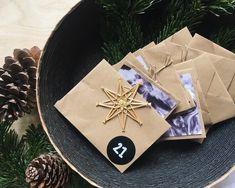 Adventskalender selber machen: Umschläge falten und gestalten #diy #briefe #letters #gestaltung #marmorieren #adventskalender #weihnachten #christmas #advent