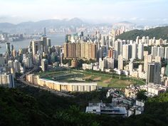 Can't wait to go to Happy Valley racecourse in Hong Kong.