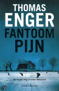 #Ebook bij de bib: 2e deel - Tip van Greet en Truus: Fantoompijn door Thomas Enger Noorse thriller met bijzondere hoofdpersoon