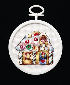 Gingerbread House - Cross Stitch Kit
