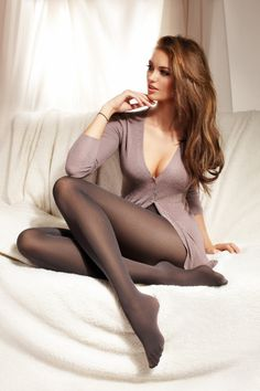 Beauty with stocking