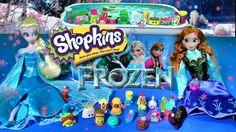SHOPKINS Season 3 & Season 2 LIMITED EDITION Opening Frozen Elsa Anna SU...