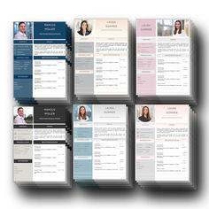 Das sind gelungene Lebenslauf Design Vorlagen als Download für Word + Pages in beliebten Trendfarben: Perfekt für das Bewerbungsfoto. Mit diesem Bewerbungsvorlagen Design wird jeder Lebenslauf CV zum Highlight. Dieser Bewerber Komplett-Set als Download ist  ideal, um Berufserfahrung, Ausbildung, Interessen, Persönlichkeitsprofil, Sprachfähigkeiten, Auslandserfahrungen und Praktikum perfekt aufbereitet zum Besten zu geben. Für Word und Pages. Microsoft Word, Cv Design Template, Training, Templates