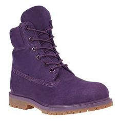 Timberland - Boots Heritage 6-inch Monochromes Femme - Violet