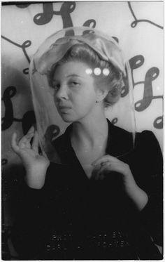 blueblackdream:    Carl Van Vechten,  Leonor Fini, ca.1936