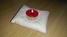 diy / homemade cement candlestick tealight domowej roboty betonowy świecznik na podgrzewacze
