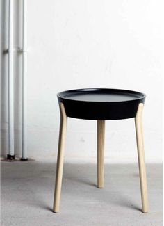 "adayinthelandofnobody:  ""Coccola""- Side table by Luca Nichetto..."