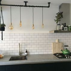 Metabes - Home, Craft and Diy Loft Interiors, Kitchen Inspirations, Kitchen Style, Metal Building Home, Kitchen Diner Designs, Kitchen Designs Layout, Kitchen Interior, Kitchen Layout, Studio Kitchen