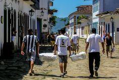 Paraty, Rio de Janeiro Brazil Culture, The Locals, Street View, African, World, Paraty, Rio De Janeiro, Calamari, The World