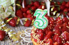 MainBacken wird 3 Jahre und das etwas Zeitverzögert in der wunderbaren Erdbeerzeit! Dazu gibt es einen köstlichen Erdbeerkuchen.