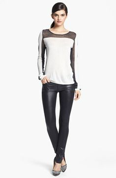 Super cute ~ Trouvé Sweater & Citizens of Humanity Jeans  available at #Nordstrom