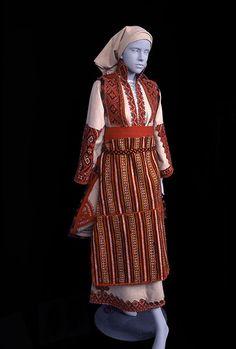 Macedonian bridal ensemble. Image courtesy of Ohio State University, Historic Costume & Textile Collection.
