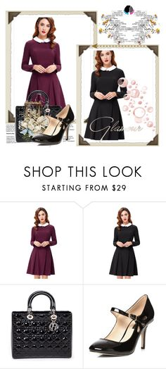 """""""VutStore-2"""" by amra-2-2 ❤ liked on Polyvore featuring Christian Dior and Dorothy Perkins"""