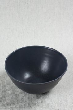 "Ceramic bowl finished with a smooth matte glaze.7"" diameter x 3.5"" high. Microwave and dishwasher safe. By Felt + Fat - Beam & Anchor"