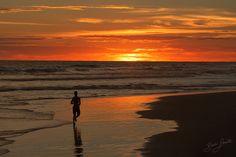 "Beach Run http://www.brucelevick.com/beach-run/ As Xavier Rudd likes to sing ""Follow the Sun"". Google it, you will love the sweet sounds.  #Beach, #Bengkulu, #Indonesia, #Mysumatra, #Photography, #Sumatra, #Sunset, #Travel"