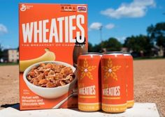 Wheaties Beer Is Perfect For Pouring Over Wheaties Cereal