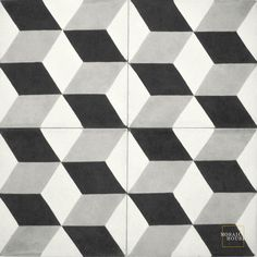 Pattern Floor Tile Cubes C14-24-4 Mosaic House Cement Tile   $27.50 (discounted $22.00)